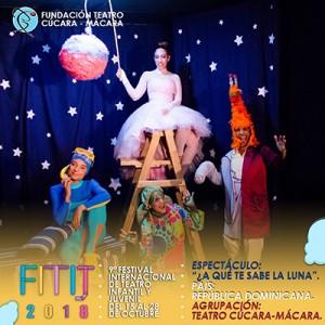 ¿A qué te sabe la Luna? Teatro Cúcara-Mácara @ Cine Club María Montez, Club Naco   Santo Domingo   Distrito Nacional   República Dominicana