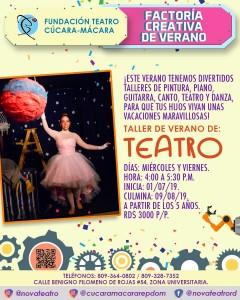 Teatro Factoria Creativa Verano @ Fundacion Teatro Cucara-Macara