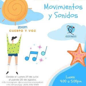 Danza Moderna @ Fudación Teatro Cúcara-Mácara OnLine