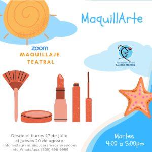 Maquillaje Teatral @ Fundación Teatro Cúcara-Mácara OnLine